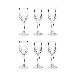 Royal Crystal Rock - Crystal glass 'Opera' liqueur set of 6 glasses