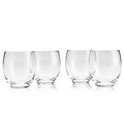 Denby - Set of four 'Afresco' small tumbler glasses