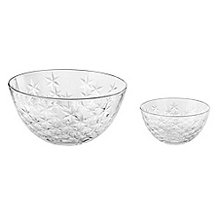 Ego by Vetri Delle Venezie - Pair of 'Galassia' large and small bowls