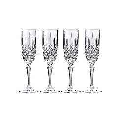 Marquis by Waterford - Set of four 'Marquis' flute glass