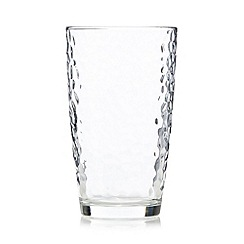 Ben de Lisi Home - Hammered hi-ball glass