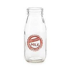 Ben de Lisi Home - Designer ceramic 'Pure Fresh Milk' bottle