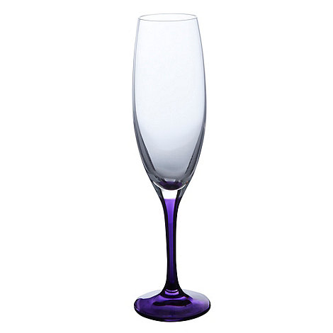 Ben de Lisi Home - Purple champagne flute