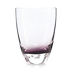 Betty Jackson.Black - Set of 4 purple 'Bubble' tumblers