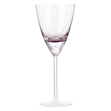 Betty Jackson.Black - Purple +Bubble+ goblet