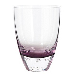 Betty Jackson.Black - Purple 'Bubble' tumbler