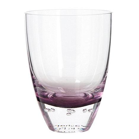Betty Jackson.Black - Purple +Bubble+ tumbler