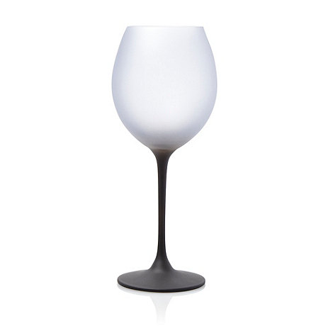 Betty Jackson.Black - Graded dark blue wine glass
