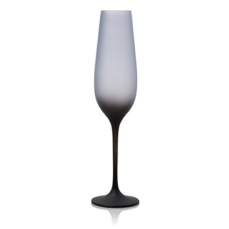 Betty Jackson.Black - Graded dark blue champagne flute