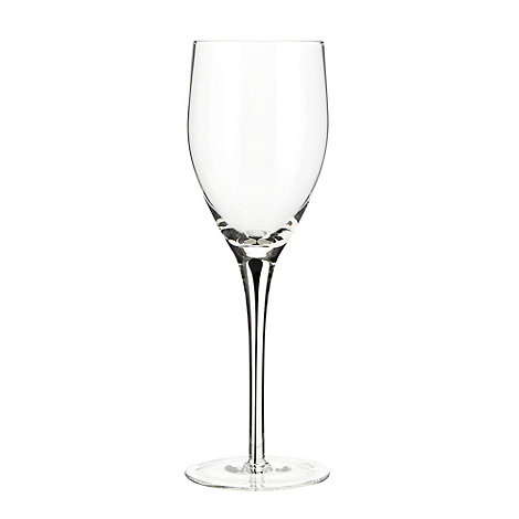 Betty Jackson.Black - Designer individual handmade teardrop stemmed wine glass