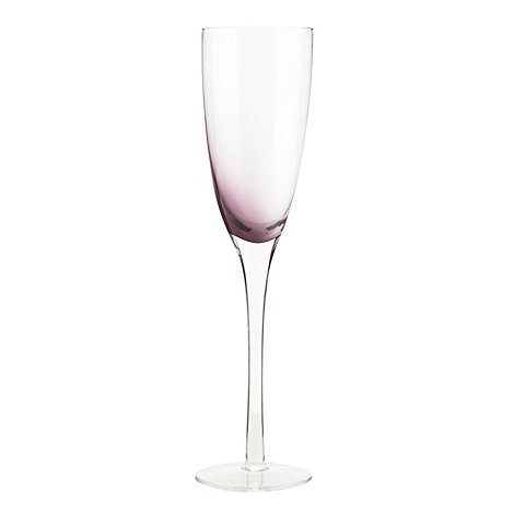 Betty Jackson.Black - Designer +Sophia+ purple glass champagne flute