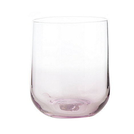 Betty Jackson.Black - Designer 'Sophia' purple glass tumbler