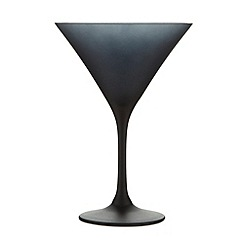 Betty Jackson.Black - Graded black martini glass