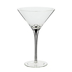 Betty Jackson.Black - Designer teardrop martini glass