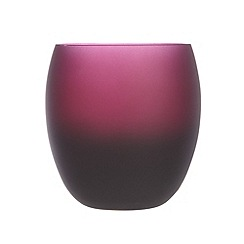 Betty Jackson.Black - Designer dark red 'Graded' glass tumbler