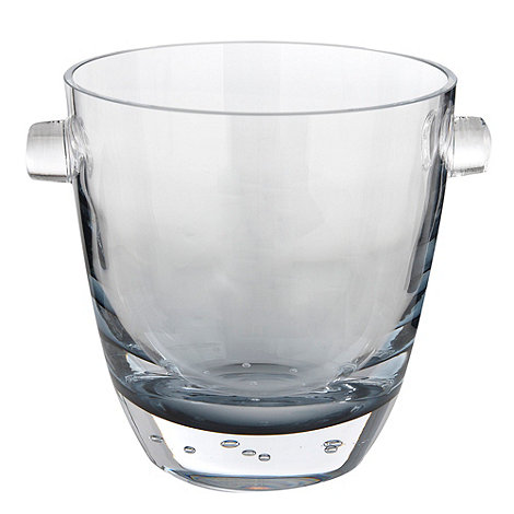 Betty Jackson.Black - Blue glass +Bubble+ champagne bucket