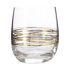 Star by Julien Macdonald - Metallic swirl tumbler