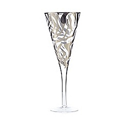 Star by Julien Macdonald - Silver zebra wine glass
