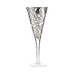 Star by Julien Macdonald - Silver zebra wine glass