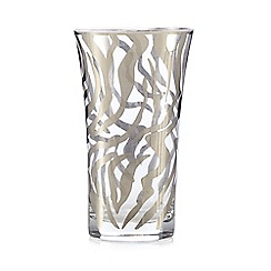 Star by Julien Macdonald - Silver zebra hi-ball glass