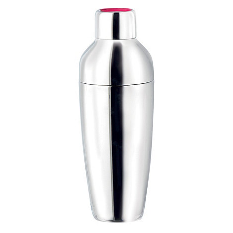 Royal Doulton - +Pop in for Drinks+ stainless steel cocktail shaker