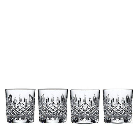 Royal Doulton - Box of four 24% lead crystal +Highclere+ tumblers