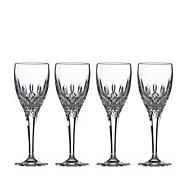 Set of 4 lead crystal 'Highclere' sherry glasses