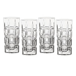 Marquis by Waterford - Crosby Barware set of 4 hiball glasses