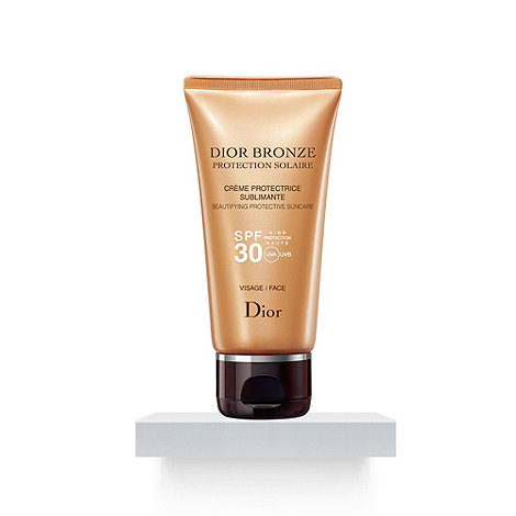 DIOR - +Dior Bronze+ SPF 30 beautifying protective sun care cream for face 50ml