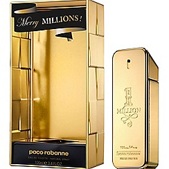 Paco Rabanne - 1 Million EDT Collectors 100ml Christmas gift set