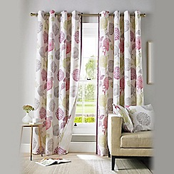Ashley Wilde - Berry 'Avril' Eyelet Heading Curtains