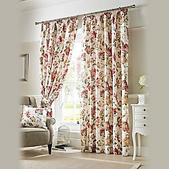 Ashley Wilde - Chintz 'Carnaby' Pencil Heading Curtains