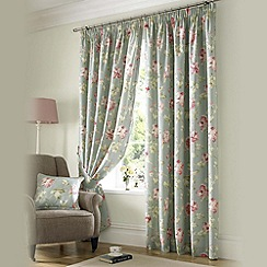 Ashley Wilde - Sorbet 'Apsley' fully lined pencil pleat curtain