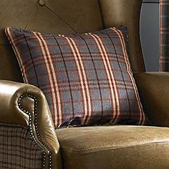 Ashley Wilde - Denim 'Archie' cushion cover