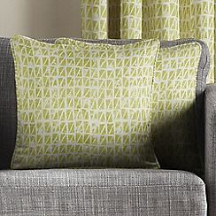 Montgomery - Green 'Java' Cushion Covers