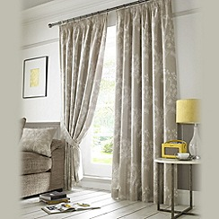 Ashley Wilde - Linen 'Hawthorne' fully lined pencil pleat curtain
