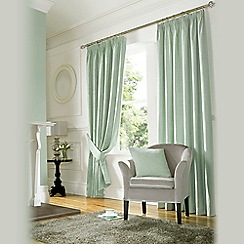 Ashley Wilde - Duck Egg 'Madison' Fully Lined Pencil Pleat Curtain