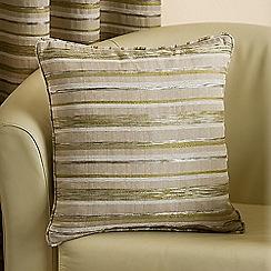 Joshua Thomas - Lime 'Chicago' Cushion Cover