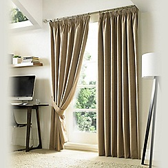 Ashley Wilde - Pebble 'Nevin' Fully Lined Pencil Pleat Curtain