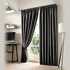 Ashley Wilde - Slate 'Nevin' Fully Lined Pencil Pleat Curtain