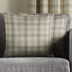 Montgomery - Natural 'Kirkwall Check' Cushion Covers