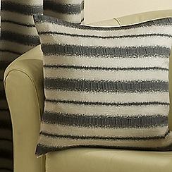 Joshua Thomas - Charcoal 'Horizon' Cushion Cover