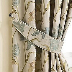 Joshua Thomas - Aqua 'Lilly' Curtain Tieback