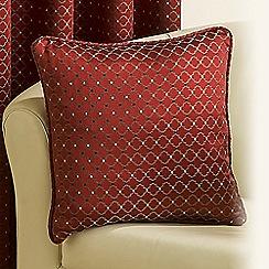 Joshua Thomas - Red 'Marrakech' Cushion Cover