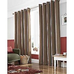 Ashley Wilde - Rouge 'Downton' Eyelet Heading Curtains