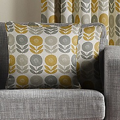 Montgomery - Mustard 'Uppsala' Cushion Cover