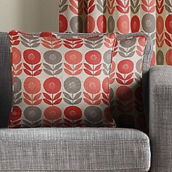 Montgomery - Coral 'Uppsala' Cushion Cover