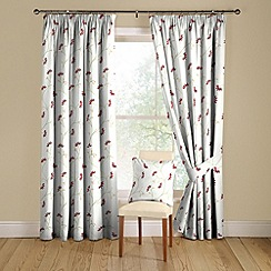 Montgomery - Ruby 'Marisa' lined curtains with pencil heading