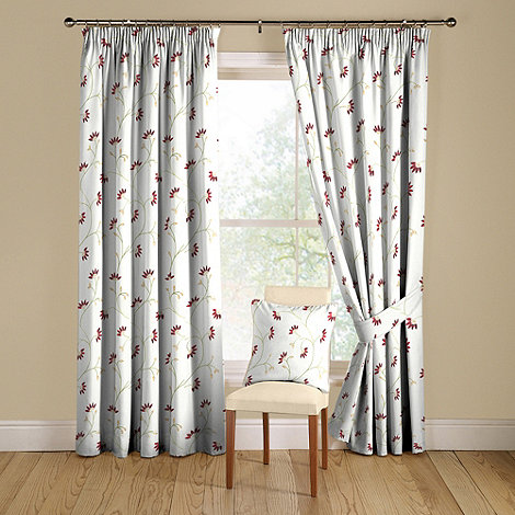 Montgomery - Ruby +Marisa+ lined curtains with pencil heading