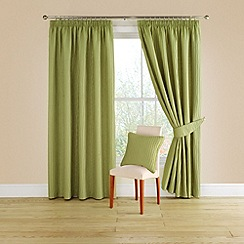 Montgomery - Lime 'Orleans' pair of tiebacks